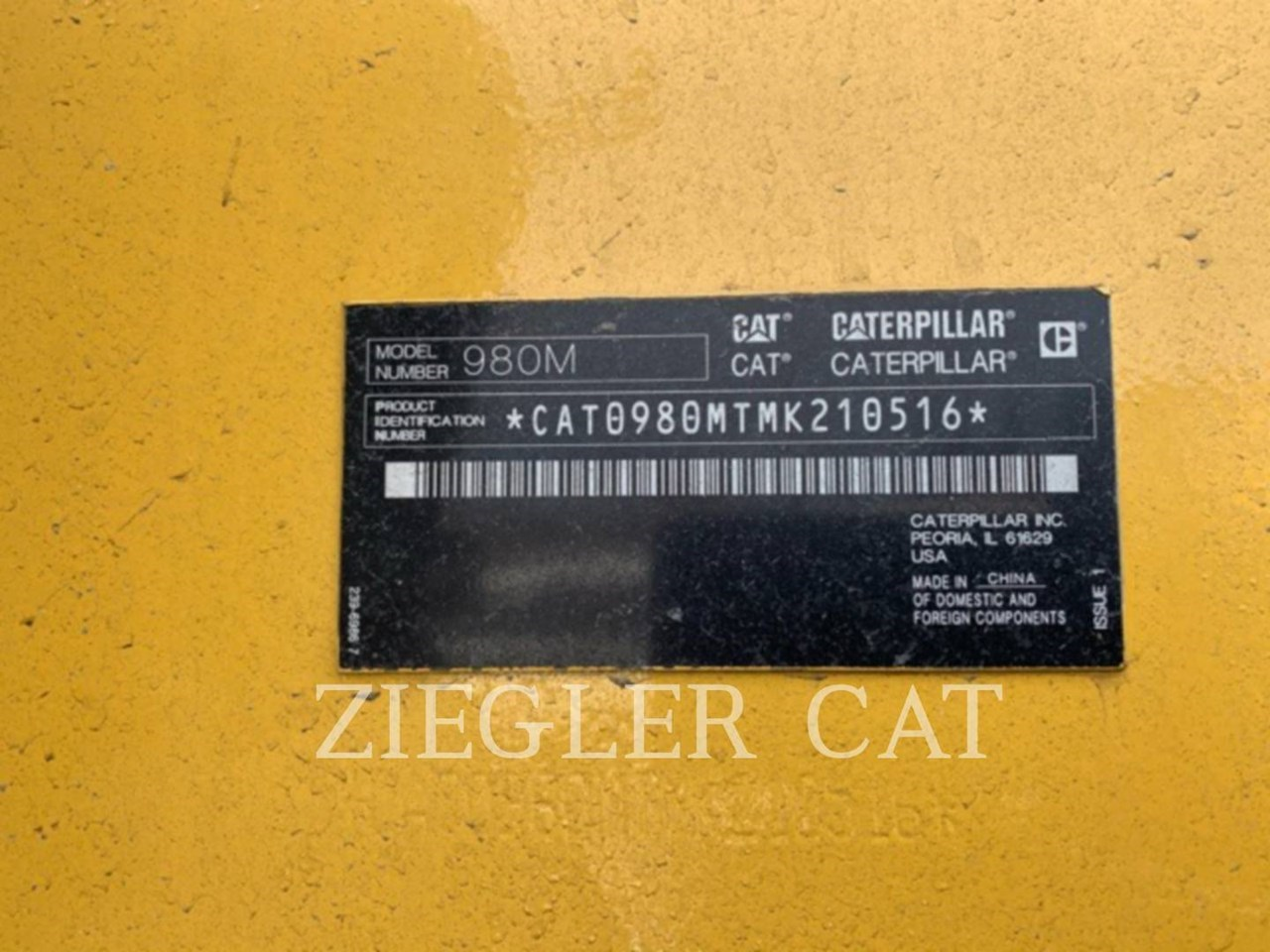 2018 Caterpillar 980M Image 5
