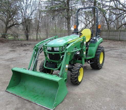 2017 John Deere 2038R Tractor - Compact Utility For Sale