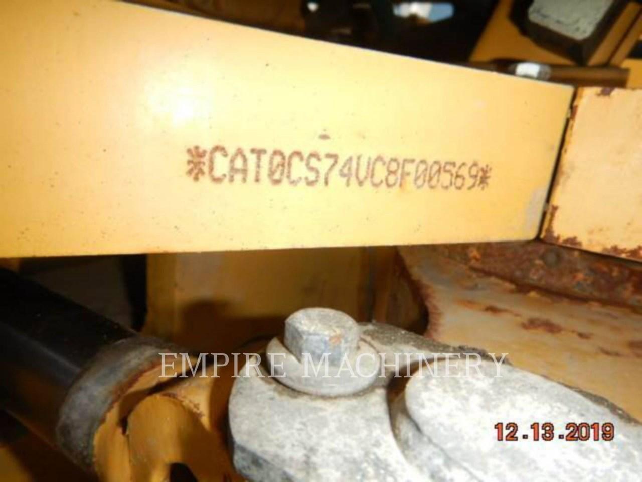 2012 Caterpillar CS74 Image 7