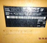 2012 Caterpillar CS74 Thumbnail 8