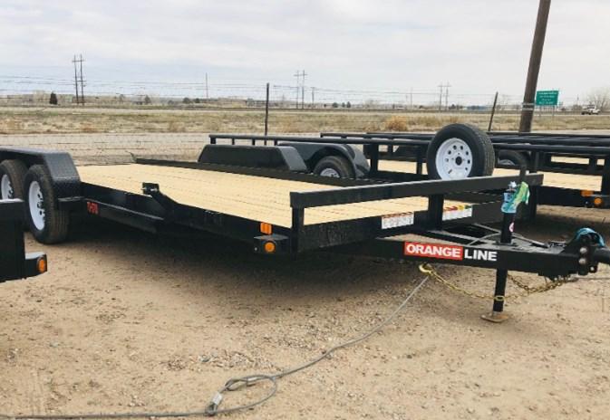 2021 Orange Line TH70-20 Utility Trailer For Sale