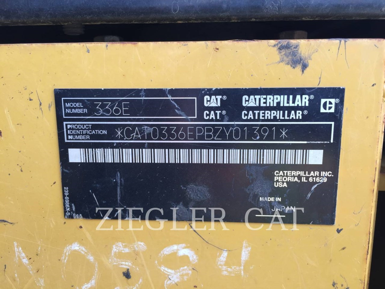 2012 Caterpillar 336ELH2 Image 8