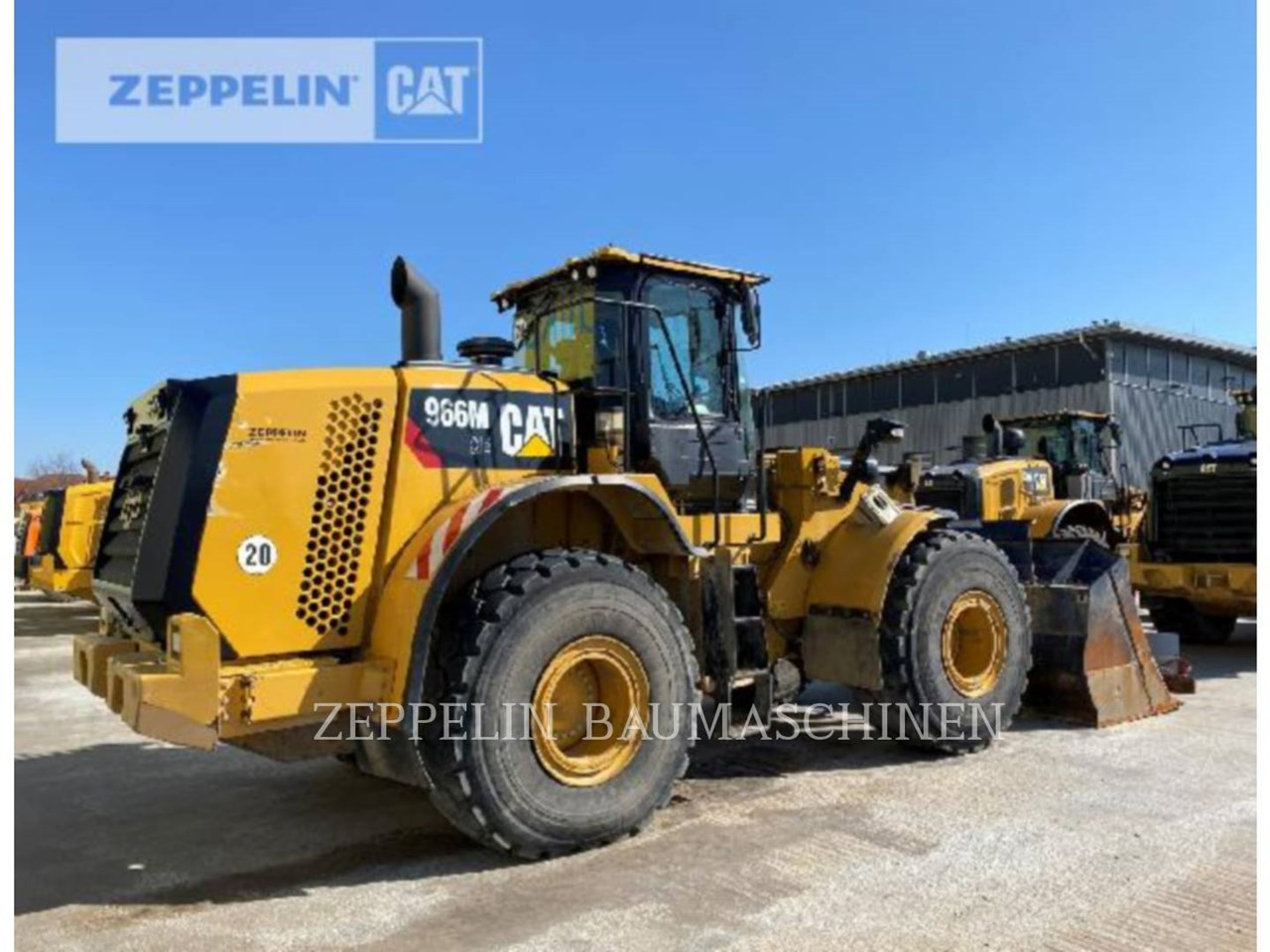 2015 Caterpillar 966MXE Image 3