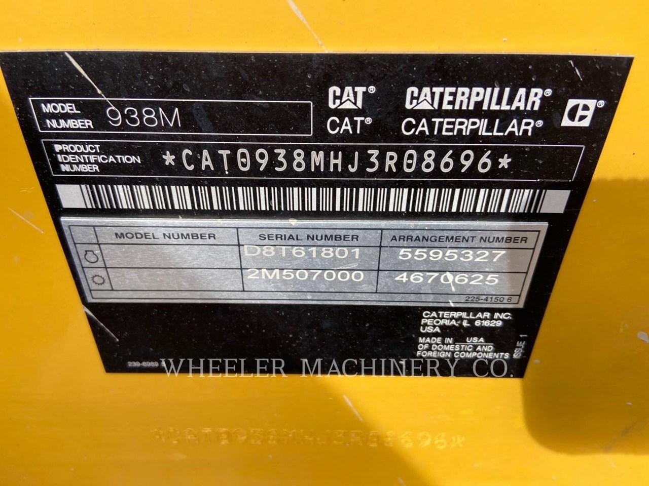 2020 Caterpillar 938M QC Image 3
