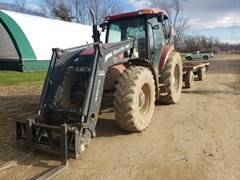 Tractor - Row Crop For Sale 2005 Case IH MXU135 , 135 HP