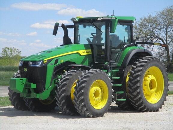2020 John Deere 8R 370 Tractor - Row Crop For Sale