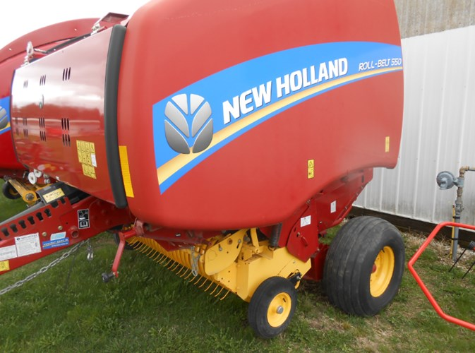2016 New Holland RB550 Bale Processor For Sale
