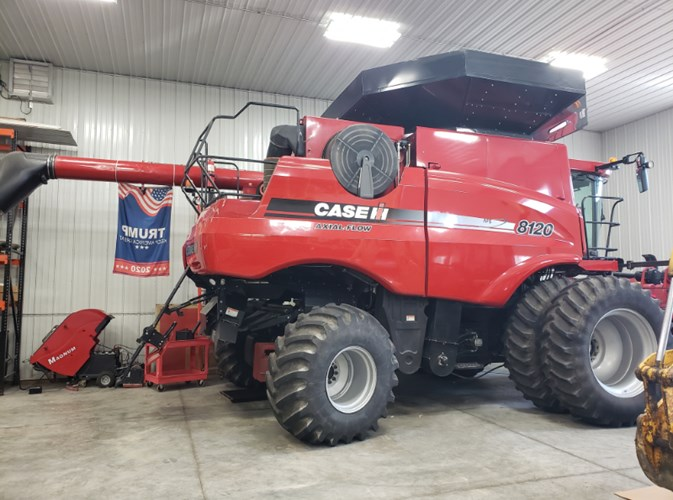 2010 Case IH 8120 Combine For Sale