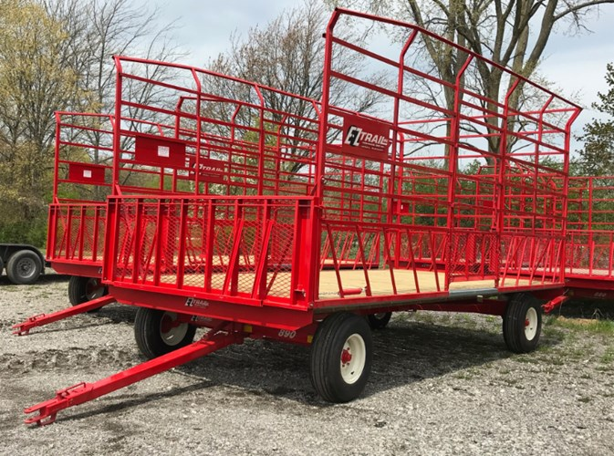 2021 E-Z Trail 890G Bale Wagon-Pull Type For Sale