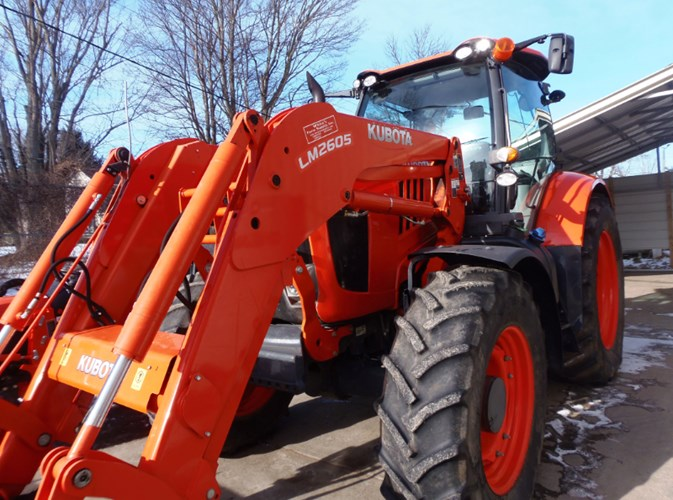 2018 Kubota M7-151S Tractor - Row Crop For Sale