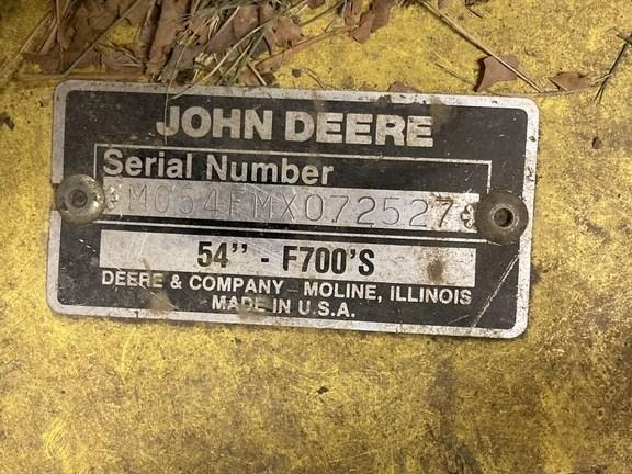 1997 John Deere F725 Image 18