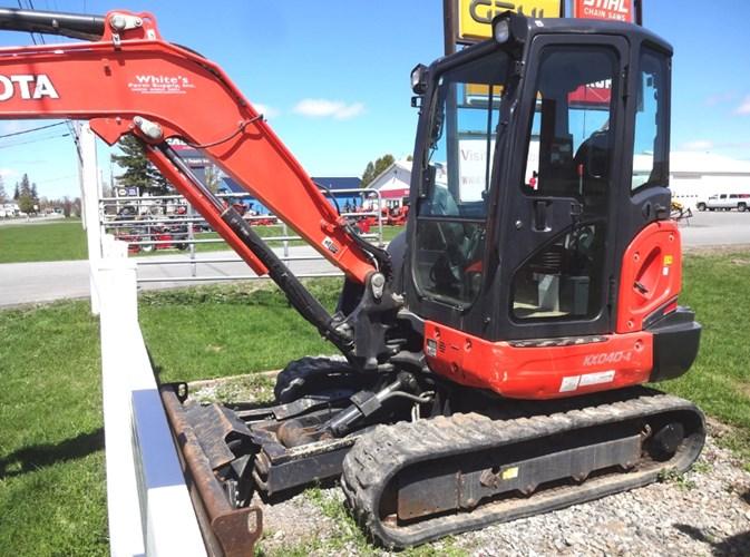 2018 Kubota KX040-4 Excavator-Mini For Sale