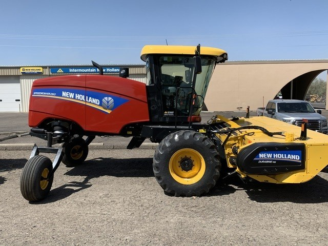 2021 New Holland SR260 Windrower-Self Propelled For Sale