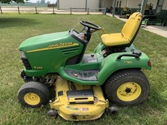 Riding Mower For Sale 2003 John Deere X485