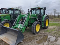 Tractor - Utility For Sale 2013 John Deere 6125M , 125 HP