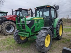 Tractor - Utility For Sale 2013 John Deere 6105M , 105 HP