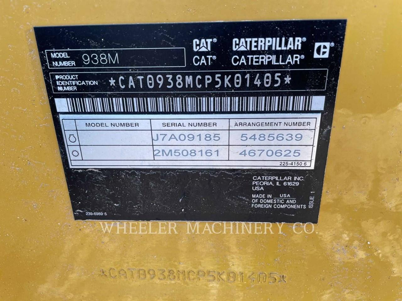 2021 Caterpillar 938M QC 3V Image 2