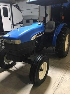 Tractor - Compact Utility For Sale 2007 New Holland TT50 , 50 HP