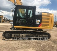 2019 Caterpillar 316FL 2D Thumbnail 3