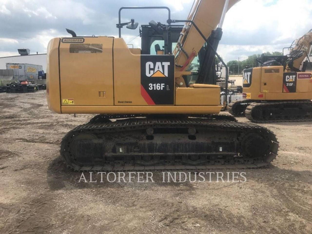 2019 Caterpillar 316FL 2D Image 4