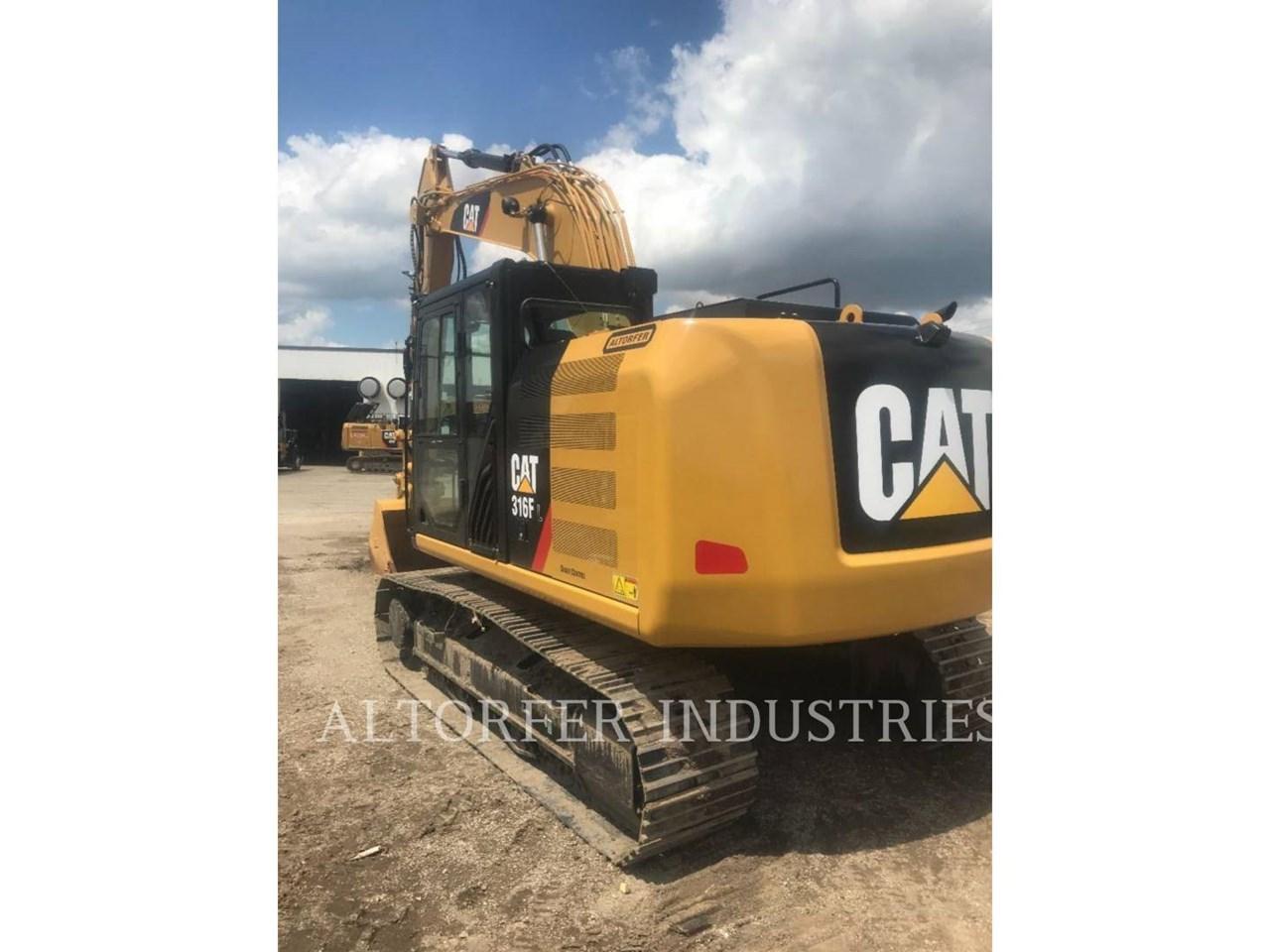 2019 Caterpillar 316FL 2D Image 8