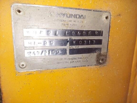 1993 Hyundai HL-35 Image 10