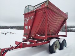 Forage Boxes and Blowers For Sale 2001 Miller Pro 4012 HIgh Lift Dump Box