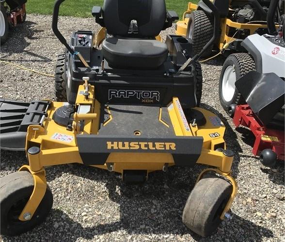 Hustler RAPTOR XDX 54 Zero Turn Mower For Sale