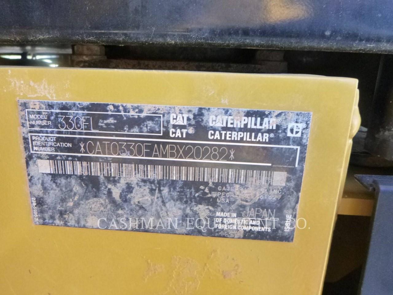 2018 Caterpillar 330FL Image 13