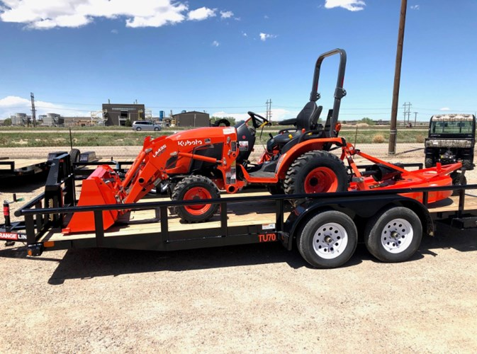2021 Kubota Tractor, Trailer implement Package  Tractor For Sale
