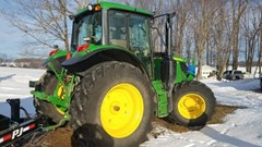 Tractor - Utility For Sale 2017 John Deere 6130M , 110 HP