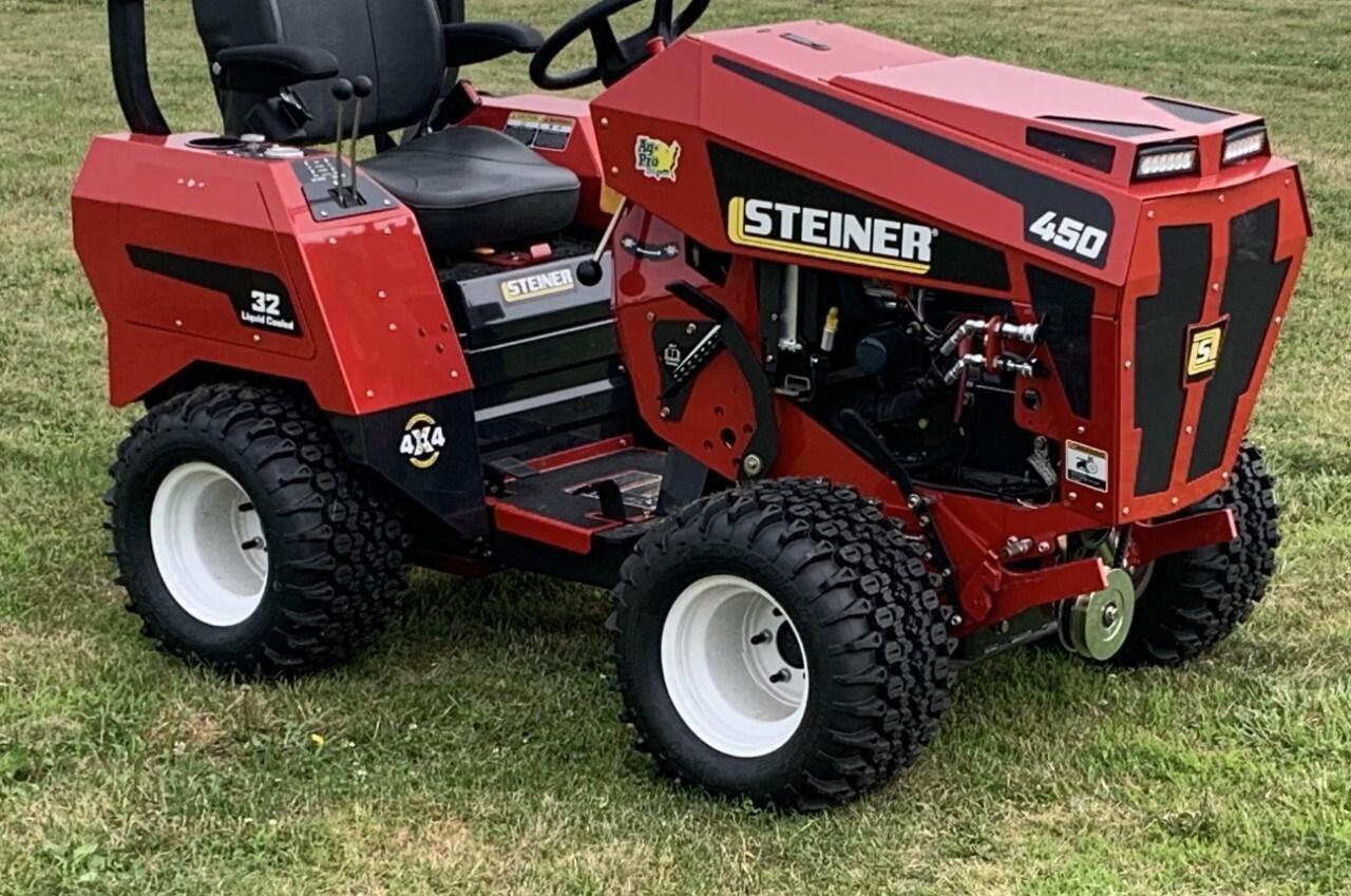 2021 Steiner 450- 32 GAS Image 2