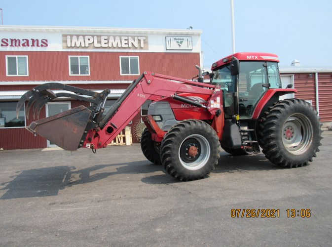 2005 McCormick MTX 120 MFD Tractor For Sale
