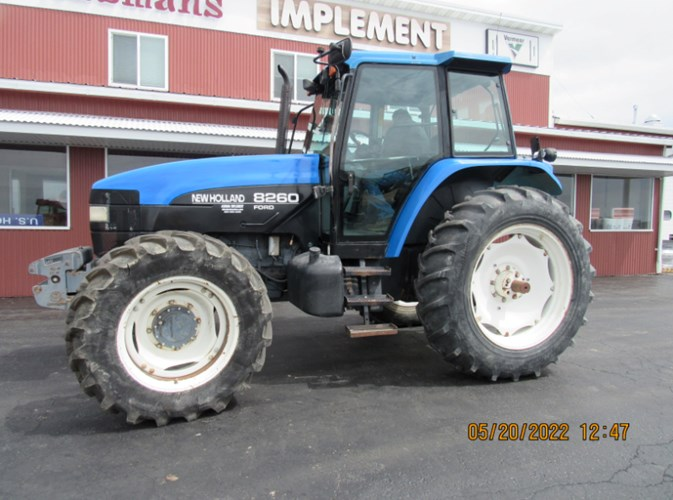 1997 Ford New Holland 8260 Tractor For Sale
