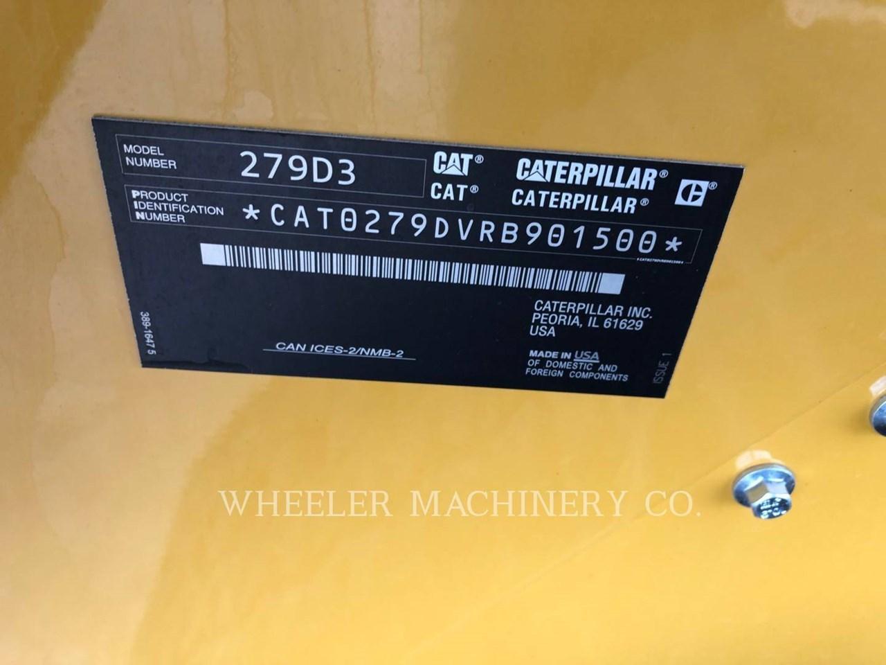 2020 Caterpillar 279D3 C3HF Image 6