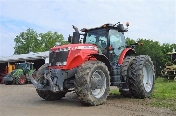2011 Massey Ferguson 8660 Tractor For Sale