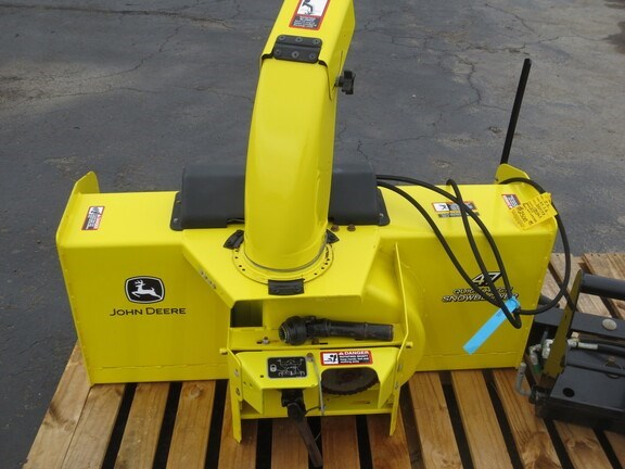 2014 John Deere 47 Snow Blower For Sale