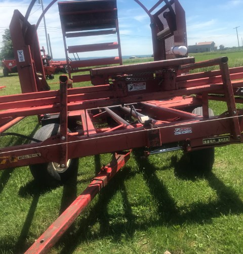 2004 H & S LW3 Bale Wrapper For Sale