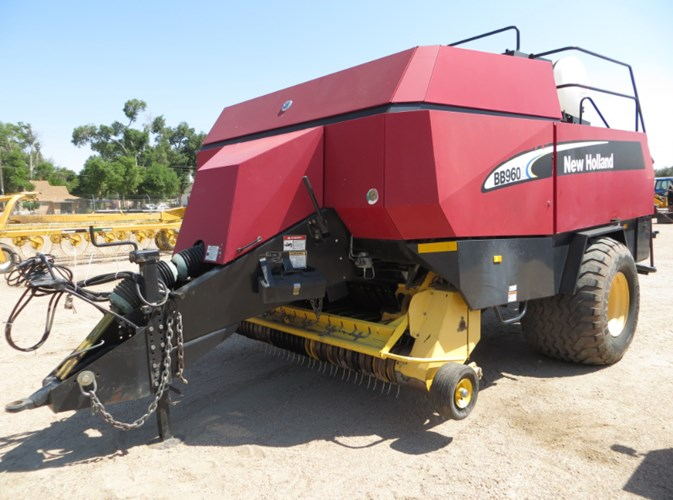 2004 New Holland BB960A Baler-Big Square For Sale