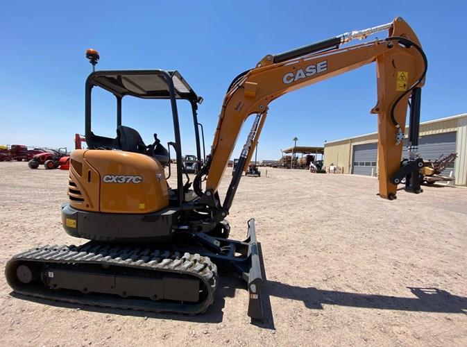 2020 Case CX37C Excavator-Track