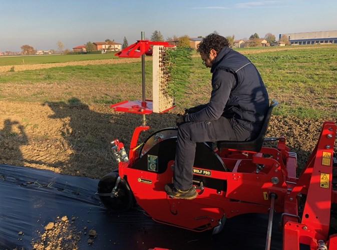 2020 Checchi & Magli WOLF PRO 1 Row Hemp Transplanter Planter For Sale