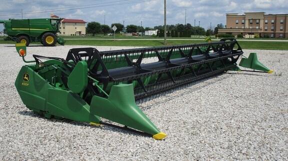 2012 John Deere 630F Header-Auger/Flex For Sale