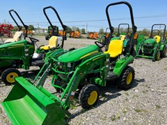 Tractor - Compact Utility For Sale 2021 John Deere 1023E