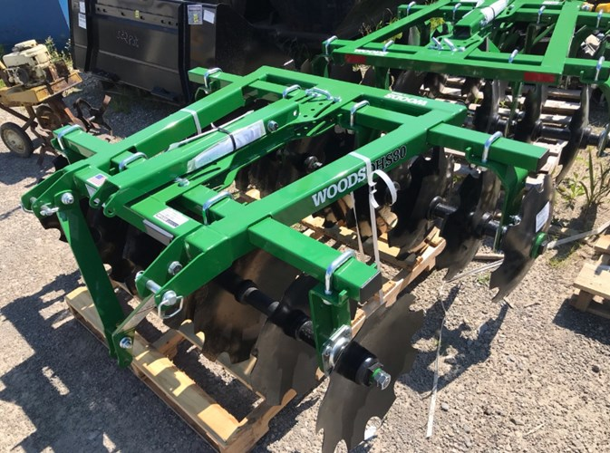 2021 Woods DHS80 Disk Harrow For Sale