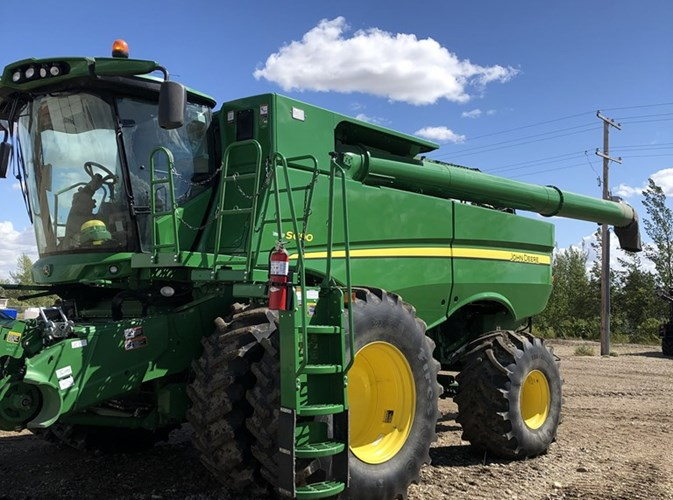 2014 Misc S690 Combine For Sale