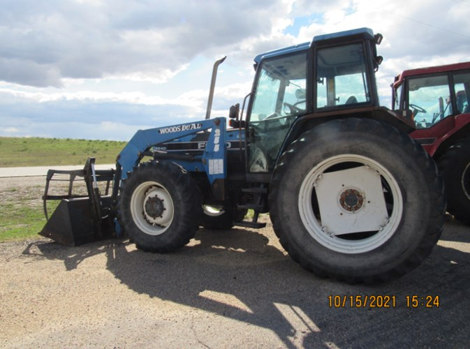 1997 Ford 8240SLE MFD Tractor For Sale