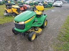 Lawn Mower For Sale 2014 John Deere X320 , 22 HP