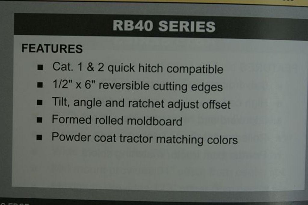 Rankin RB40-84 Image 4