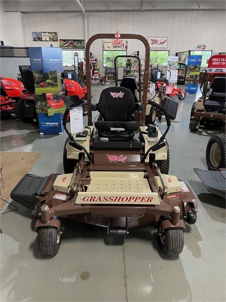 """2021 Grasshopper MidMount™ 300G Series 52"""" 329G4 EFI Image 2"""