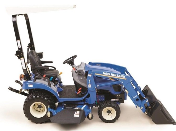 2021 New Holland Workmaster 25S + 100LC LDR + 160GMS MMM Tractor - Compact Utility For Sale